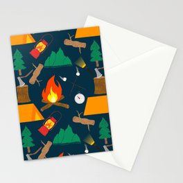 Let's Explore The Great Outdoors - Dark Blue Stationery Cards