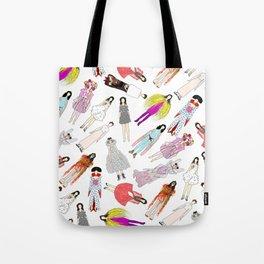 Outfits of Bjork Fashion Tote Bag
