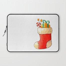 Santa's stocking Laptop Sleeve