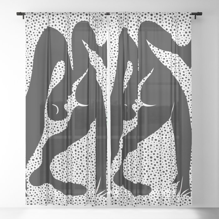 Picasso - Acrobat Sheer Curtain
