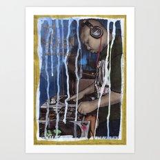 DEAD RAPPERS SERIES - Dj Screw Art Print