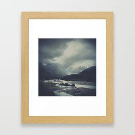 The Place Framed Art Print