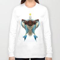 wesley bird Long Sleeve T-shirts featuring BIRD by John Aslarona