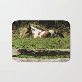 Paint By Nature Horse Photo Bath Mat