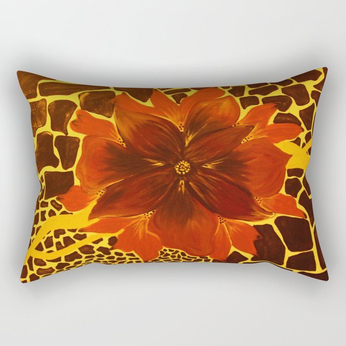 Gold Touch Rectangular Pillow