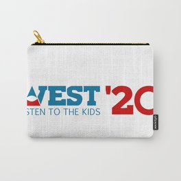 West for President 2020 Carry-All Pouch