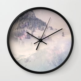 The World Was Ours Wall Clock