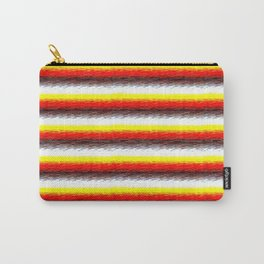 YelOraBrownWhite Carry-All Pouch