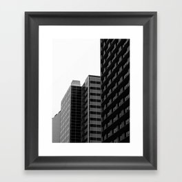 Corners Framed Art Print