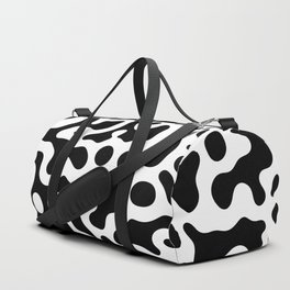 Liquid spot camouflage pattern_01 Duffle Bag