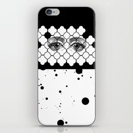 Through your beautiful space of freedom iPhone Skin