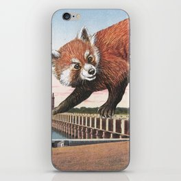 And with that, she sets off on the journey home iPhone Skin