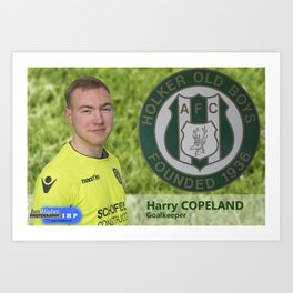 Harry Copeland Art Print
