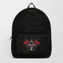 Gothic Ankh Backpack