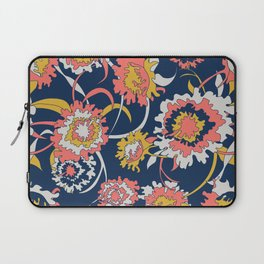 Bold Chinoiserie Floral - Limited Color Palette 2019 Laptop Sleeve