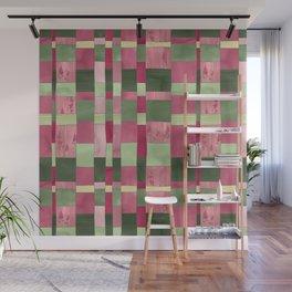Weaver's Dream / Geometric Meets Floral Wall Mural