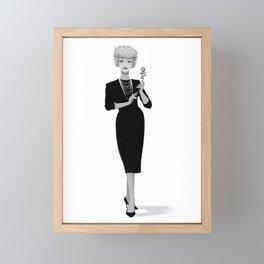 Gigi 02 Framed Mini Art Print