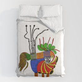 Dennis Abstract Comforters