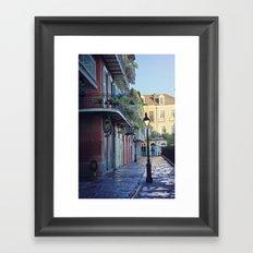 New Orleans - Dawns Early Light Framed Art Print