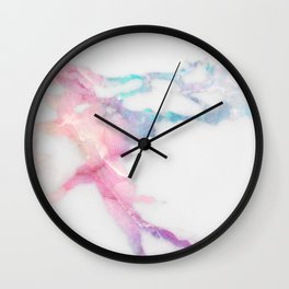 Unicorn Vein Marble Wall Clock