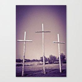 Tres Cruces Canvas Print