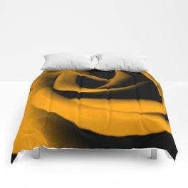 Yellow Rose III Comforters