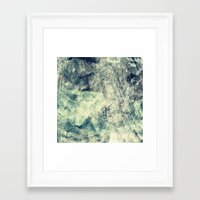grunge Framed Art Prints featuring Grunge by Amanda Roof