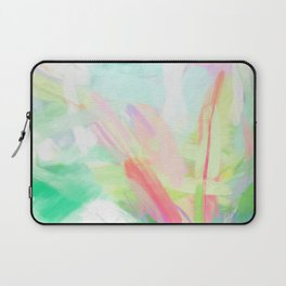 Tropical Pastel Palm Laptop Sleeve