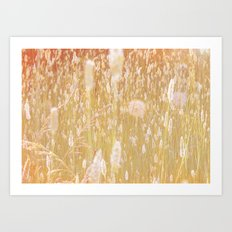i am grass Art Print
