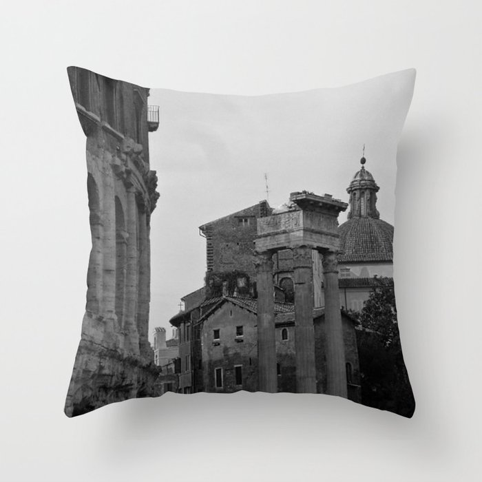 Roman Wanderings Throw Pillow