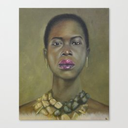 Proud Beauty Canvas Print