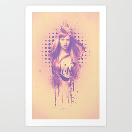 Lolly Art Print