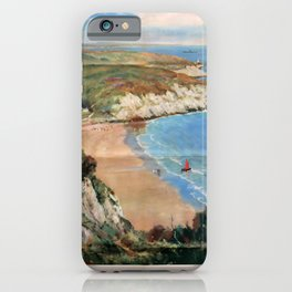 affisso The Gower Coast iPhone Case