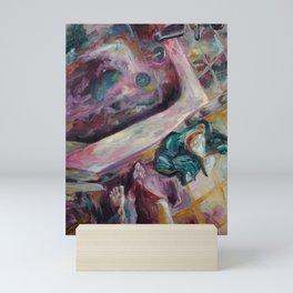 To Take a Shower Mini Art Print