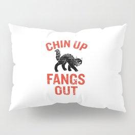 Chin Up Fangs Out Pillow Sham
