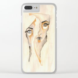 The Division of Self Clear iPhone Case