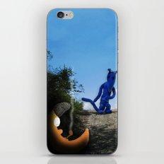 Where the Moon goes to sleep iPhone & iPod Skin