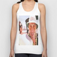 fear and loathing Tank Tops featuring Fear and Loathing Wherever. by Revolutionthrulife