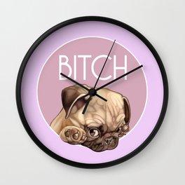 Bitch Wall Clock