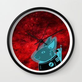 Space Rabbit Wall Clock