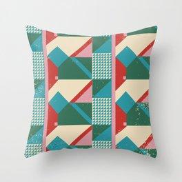 Mid century modern, mid-century wall art, print, geometric wall art, abstract wall art, interior, ma Throw Pillow