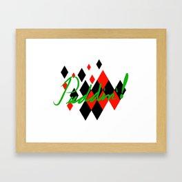 Puddin'! Framed Art Print