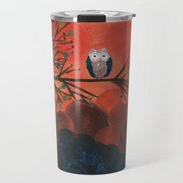 Owl Art by MiMi Stirn - Owl Singles #337 Travel Mug