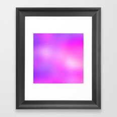 Pink Cosmic Gradient Framed Art Print