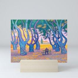 Paul Signac - Place des Lices, St. Tropez - Colorful Vintage Fine Art Mini Art Print
