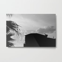 Watching Over Metal Print