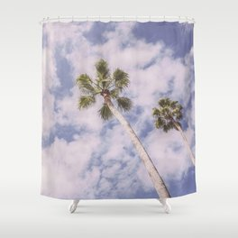 PALMS BEACH Shower Curtain