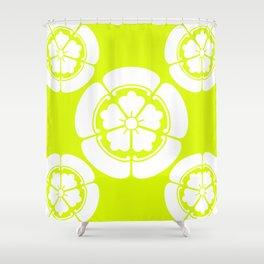 Samurai-Oda family Crest version2 Shower Curtain