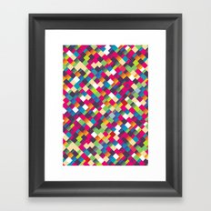 Sweet Pattern Framed Art Print