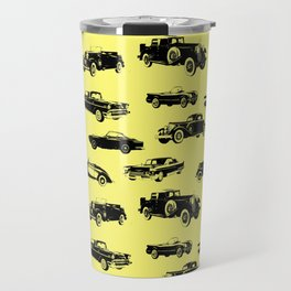 Classic Cars // Yellow Travel Mug